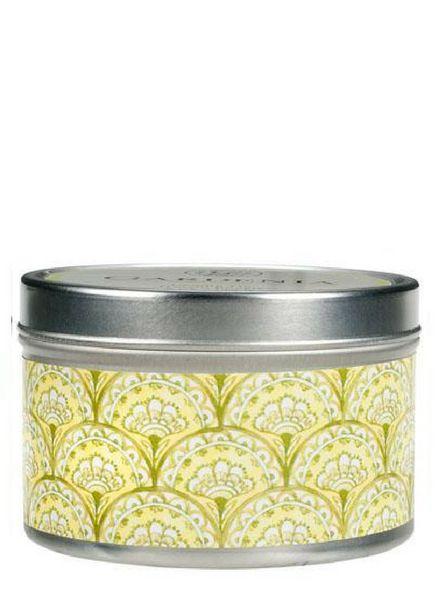 Greenleaf Candle Tin Gardenia