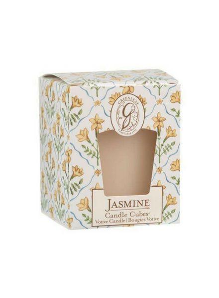 Greenleaf Greenleaf Candle Cube Jasmine