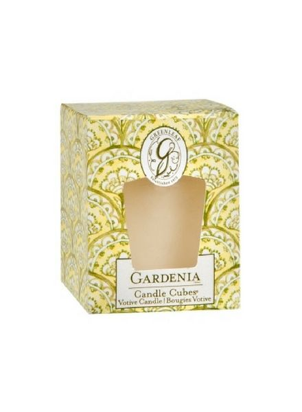 Greenleaf Greenleaf Candle Cube Gardenia