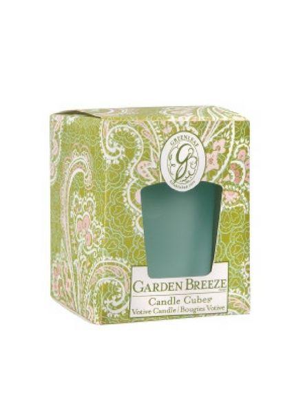 Greenleaf Greenleaf Candle Cube Garden Breeze