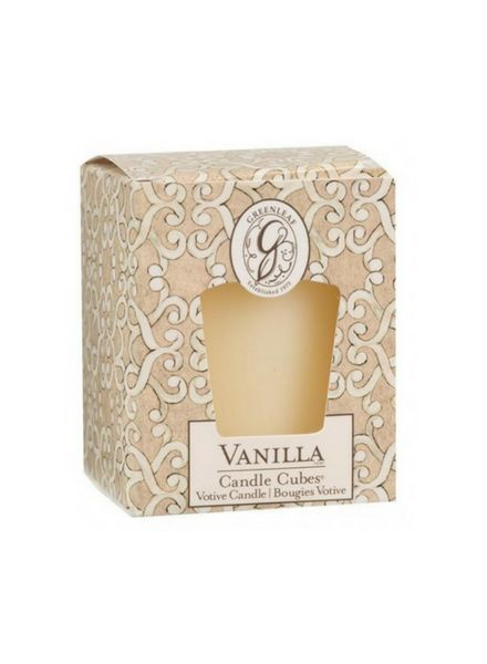 Greenleaf Candle Cube Vanilla