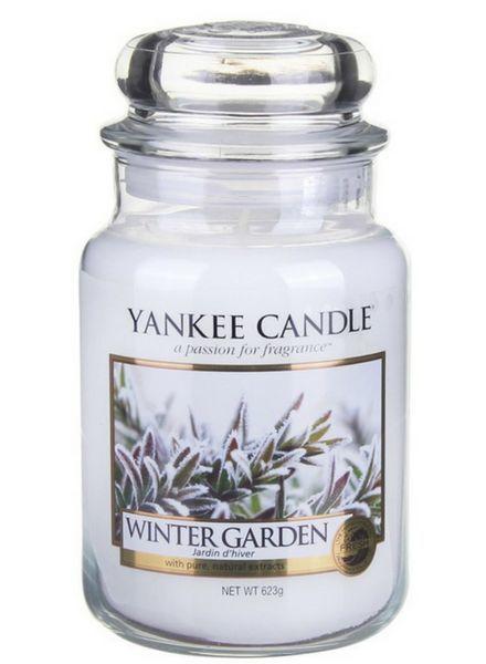 Winter Garden Large Jar