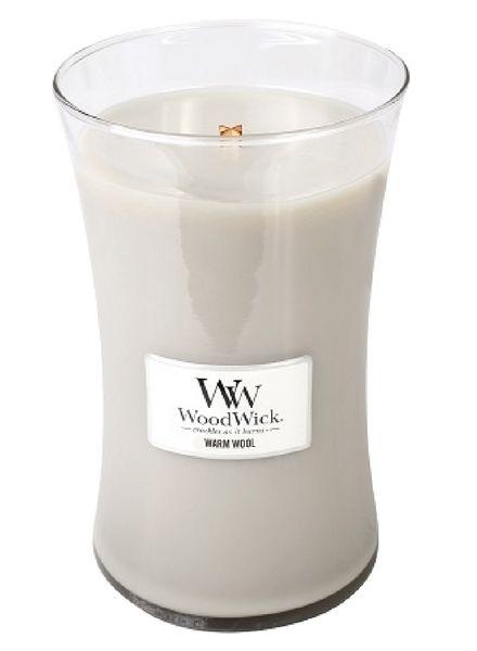 Woodwick WoodWick Large Candle Warm Wool