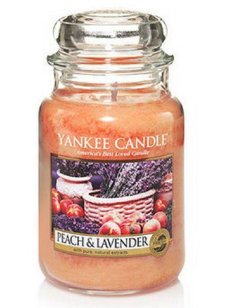 Peach & Lavender Large Jar