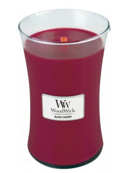 Woodwick Large Black Cherry