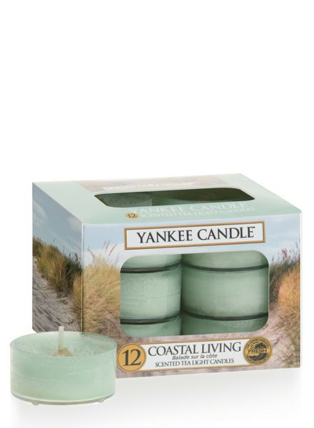 Yankee Candle Yankee Candle Coastal Living Theelichten
