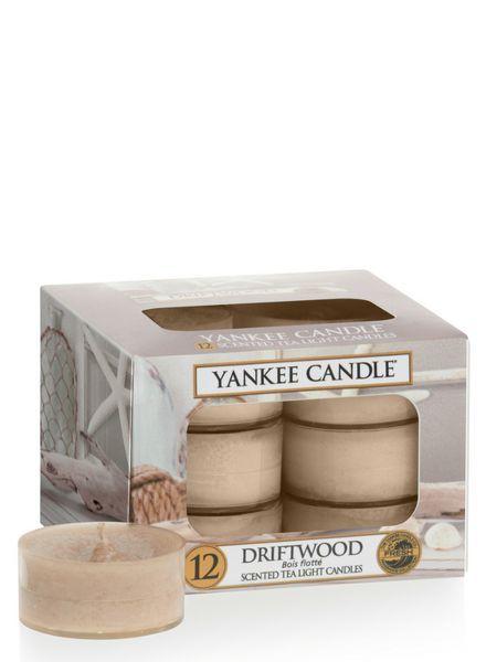 Yankee Candle Driftwood Theelichten