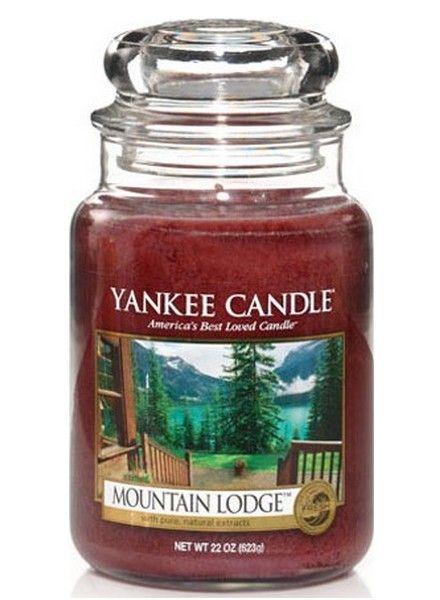 Yankee Candle Mountain Lodge Large Jar
