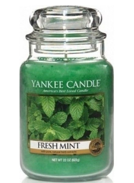 Yankee Candle Fresh Mint Large Jar