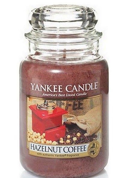 Yankee Candle Yankee Candle Hazelnut Coffee Large Jar