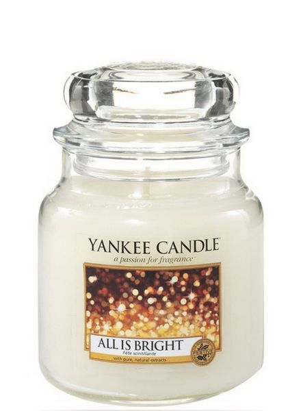 Yankee Candle Yankee Candle All Is Bright Medium Jar