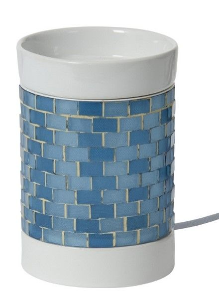 Yankee Candle Yankee Candle Glitter Glow Light Blue Tart Brander