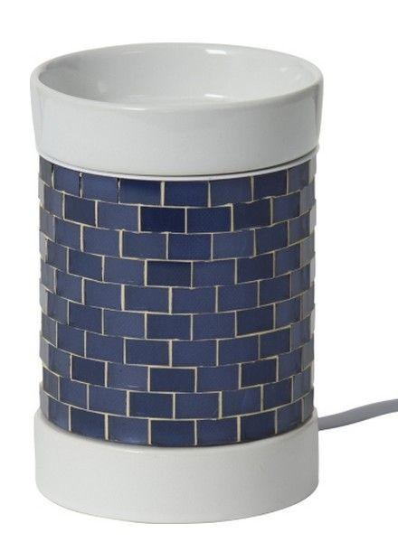 Yankee Candle Tartwarmer Elektrisch Glitter Glow Dark Blue