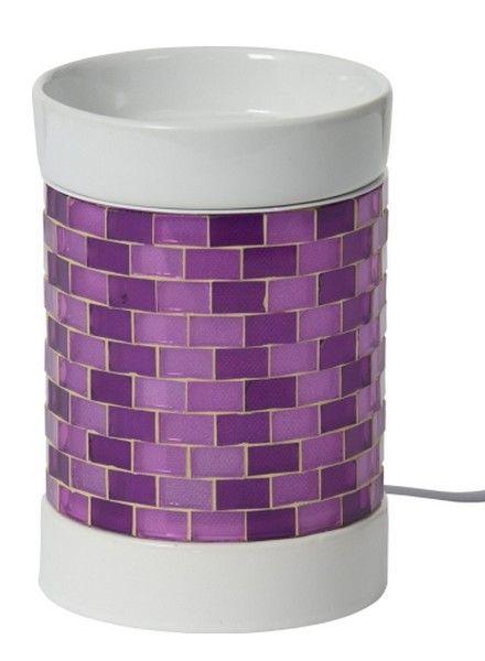 Yankee Candle Tartwarmer Elektrisch Glitter Glow Purple