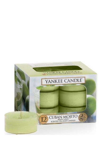 Yankee Candle Cuban Mojito Theelichten