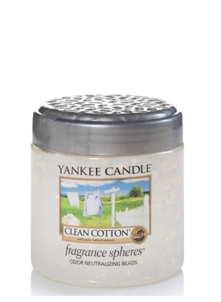 Yankee Candle Clean Cotton Fragrance Spheres