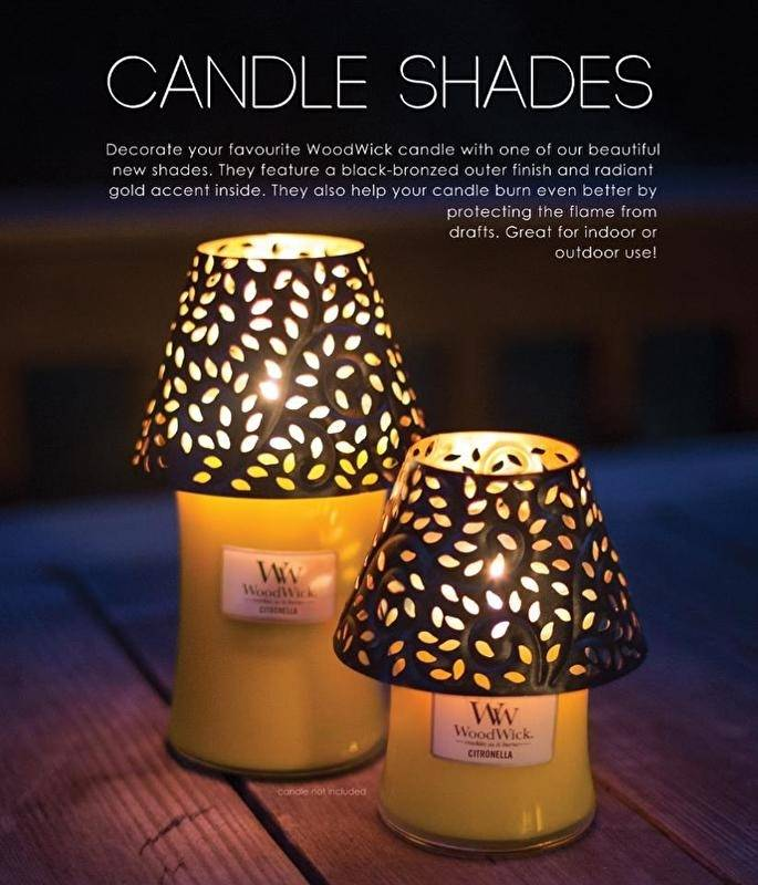 Woodwick WoodWick Leaf Shade Large Candle