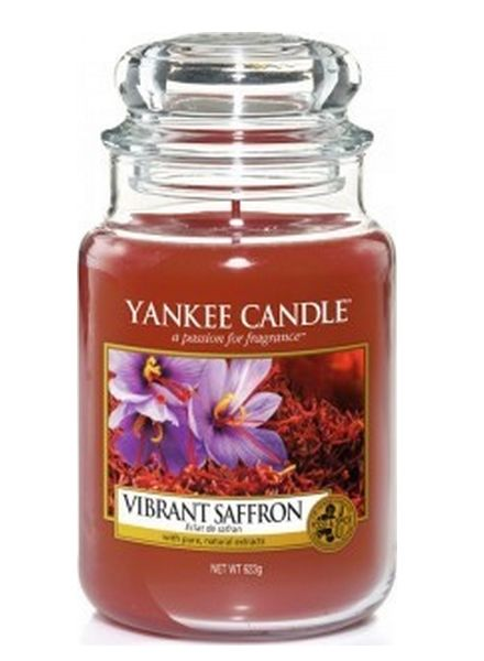 Yankee Candle Yankee Candle Vibrant Saffron Large Jar