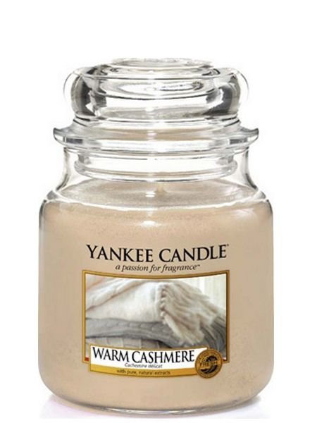 Yankee Candle Yankee Candle Warm Cashmere Medium Jar