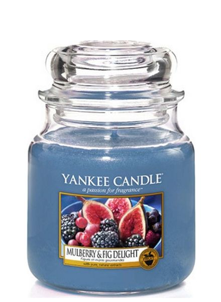 Yankee Candle Yankee Candle Mulberry & Fig Delight Medium Jar