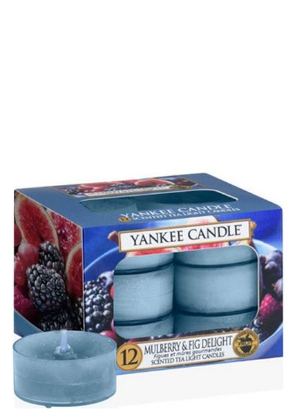 Yankee Candle Yankee Candle Mulberry & Fig Delight Theelichten