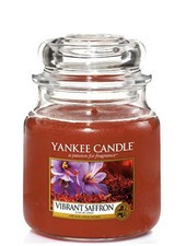 Yankee Candle Vibrant Saffron Medium Jar