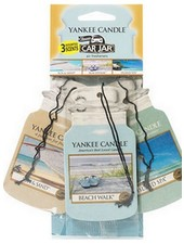 Yankee Candle Car Jar Beach Vacation 3 pack