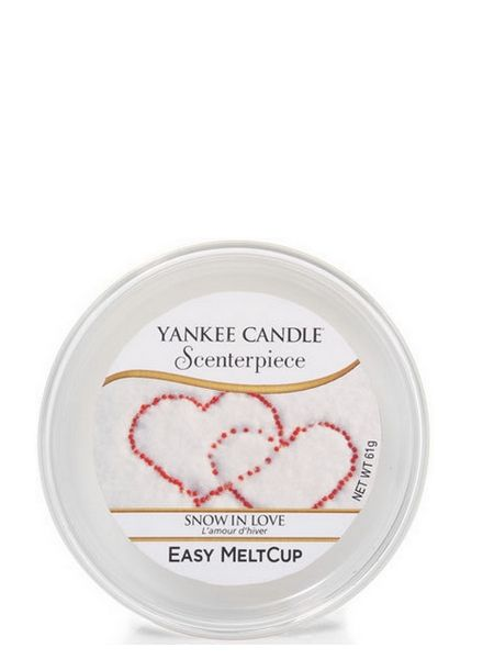 Yankee Candle Yankee Candle Snow in Love Scenterpiece Melt Cup