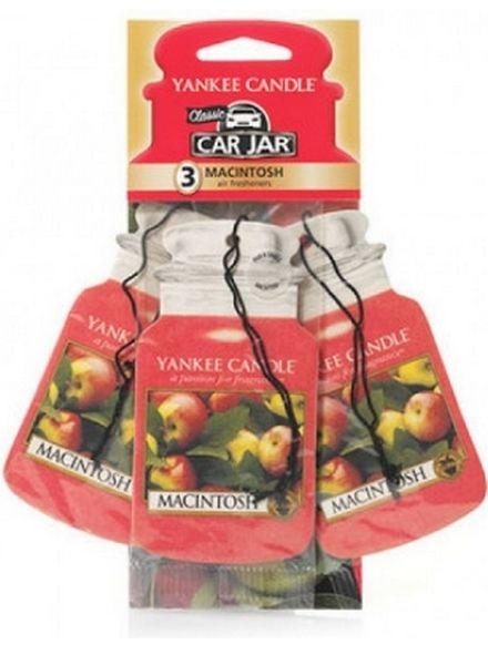 Yankee Candle Yankee Candle Car Jar Macintosh 3 pack