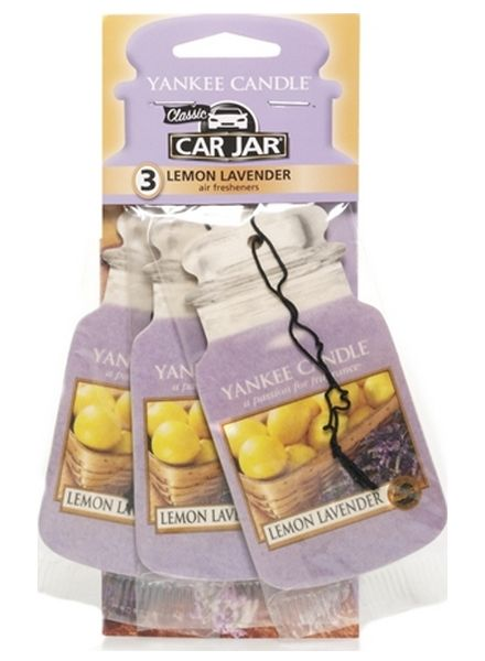 Yankee Candle Yankee Candle Car Jar Lemon Lavender 3 pack