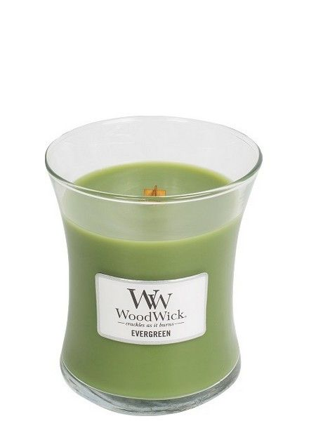 Woodwick WoodWick Medium Candle Evergreen