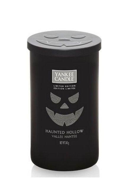 Yankee Candle Haunted Hollow Medium Pillar 2017