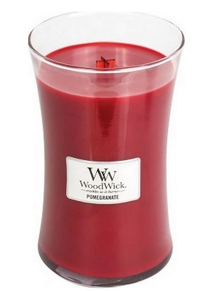 Woodwick WoodWick Large Candle Pomegranate