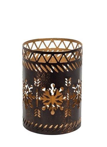 Woodwick Woodwick Petite Candle Holder Snowflake