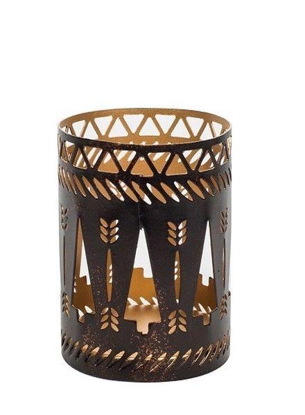 Woodwick WoodWick Petite Candle Holder Bronze Trees