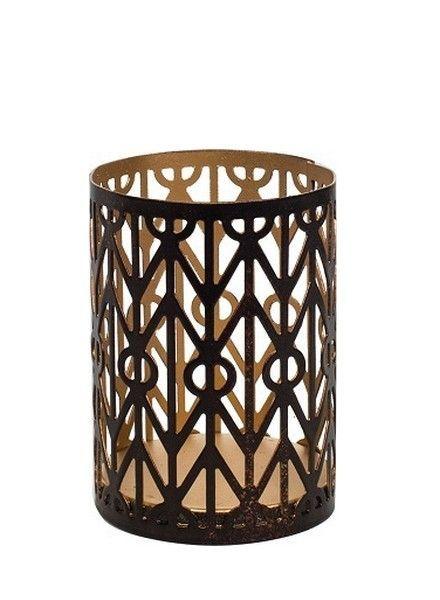 Woodwick Woodwick Petite Candle Holder Geometric