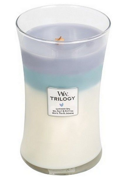 Woodwick WoodWick Calming Retreat Trilogy Large Candle