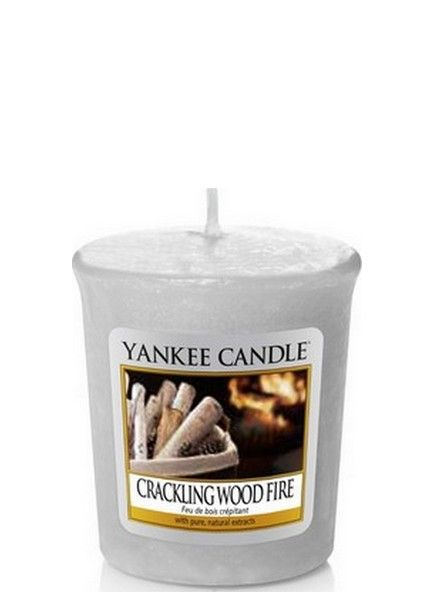 Yankee Candle Yankee Candle Crackling Wood Fire Votive