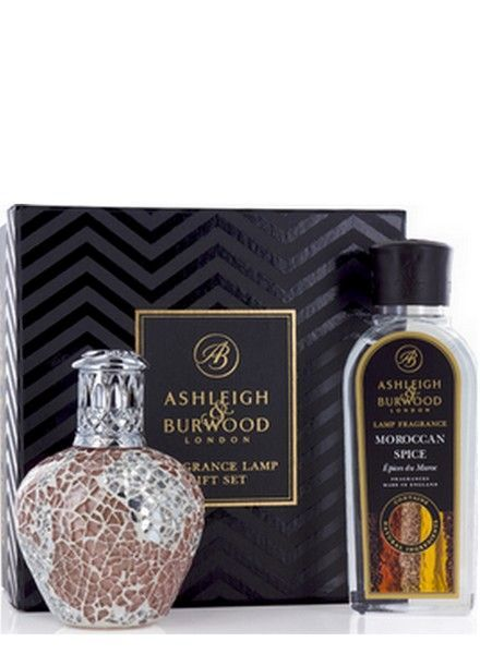 Ashleigh & Burwood Geurlamp Apricot Shimmer Giftset