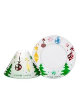 Yankee Candle Deck the Halls Small Shade and Tray