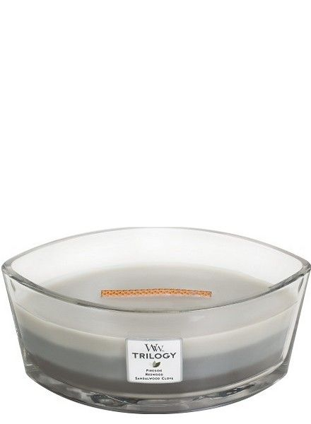 Woodwick WoodWick Warm Woods  Ellipse Trilogy