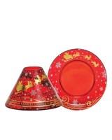 Yankee Candle Santa Sleigh Large Shade and Tray
