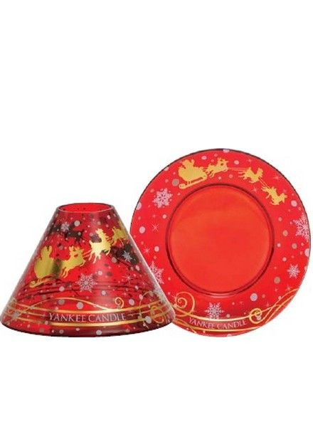 Yankee Candle Yankee Candle Santa Sleigh Large Shade and Tray