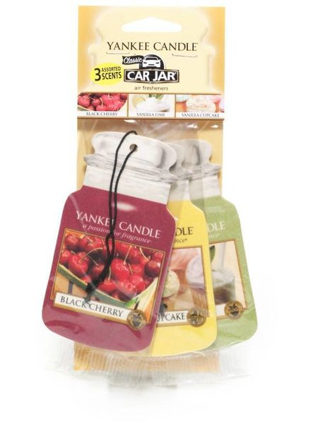 Yankee Candle Car Jar Afternoon Picknic 3 pack