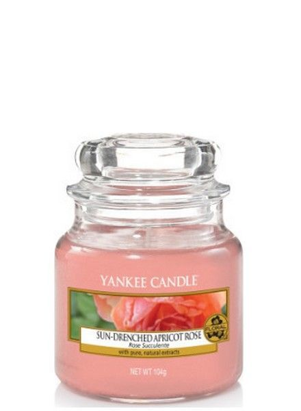 Yankee Candle Sun Drenched Apricot Rose Small Jar