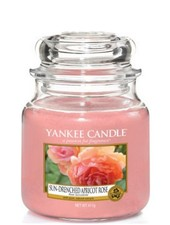 Yankee Candle Sun Drenched Apricot Rose Medium Jar