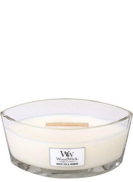 Woodwick WoodWick White Tea & Jasmine Ellipse