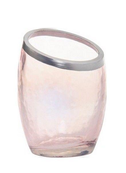 Yankee Candle Pearlescent Crackle Pink Votive Houder