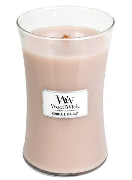 Woodwick Woodwick Large Candle Vanilla & Sea Salt