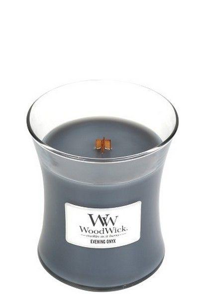 Woodwick Medium Evening Onyx